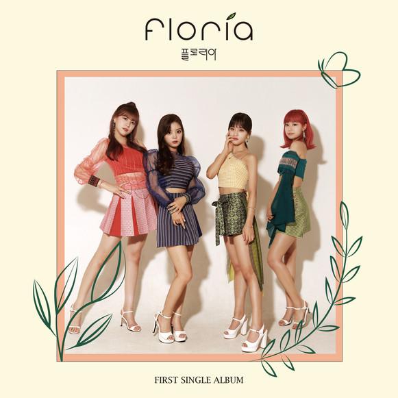 7.앨범자켓_Floria 1st Single 'Chitty Chitty'