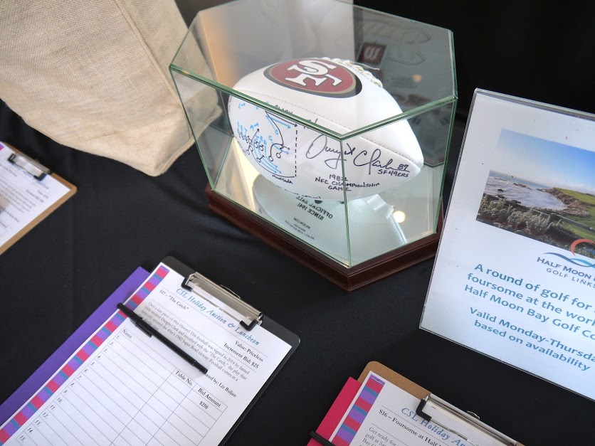 Silent Auction Dwight Clark