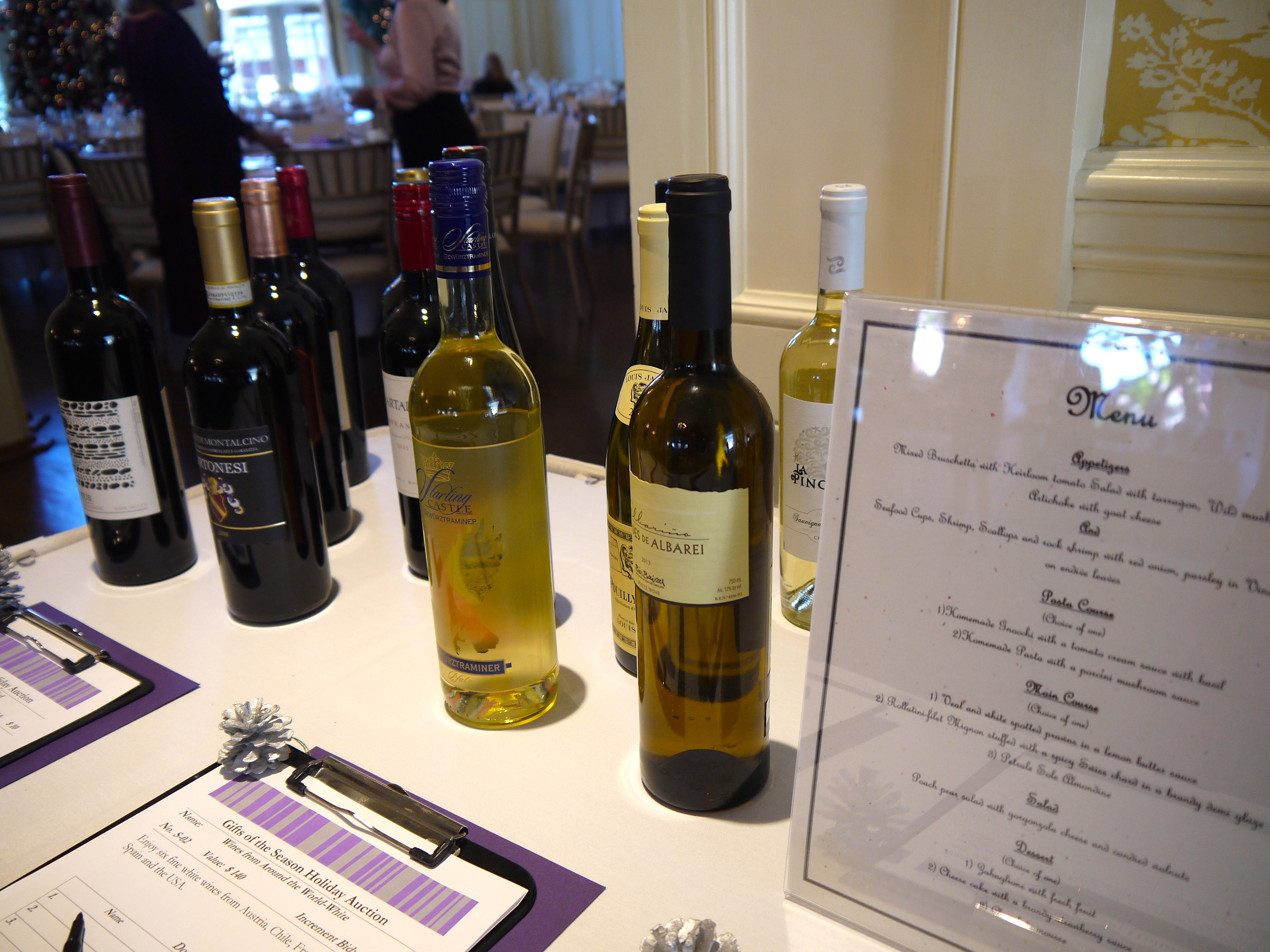 Silent Auction Wine