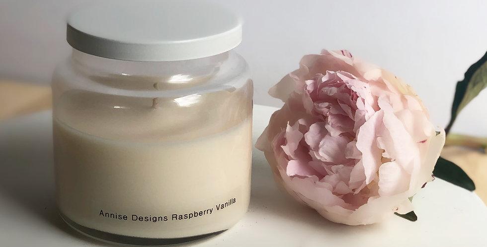 Apothecary Candle - Raspberry Vanilla