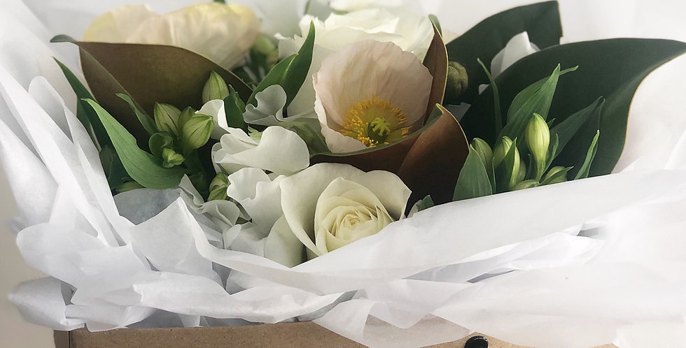 Bloom Box | White and Green