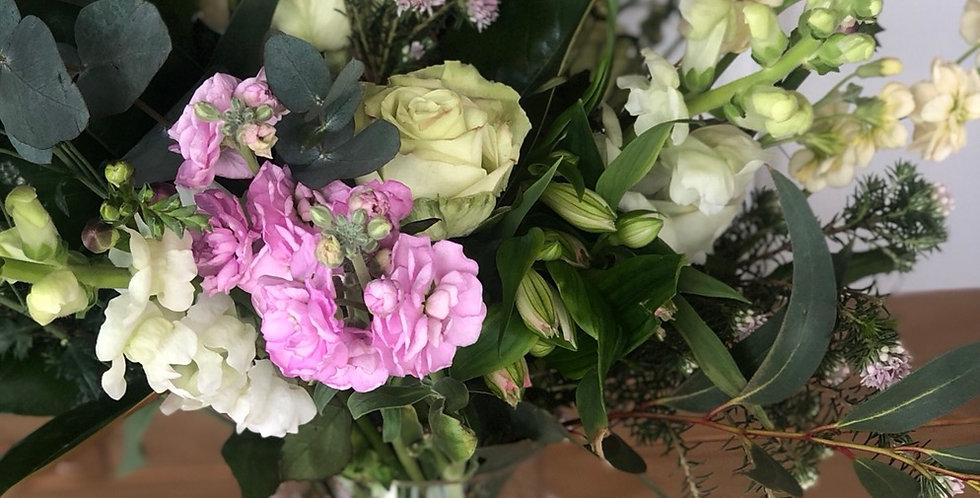 Blooms + Vase     Seasonal Mix