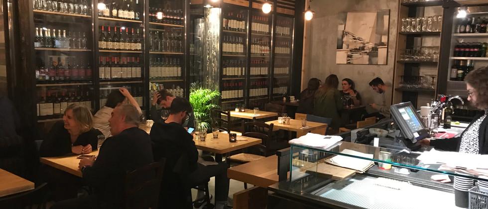 Sublime Pizzeria Inside