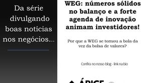 WEG: números sólidos no balanço e a forte agenda de inovação animam investidores!