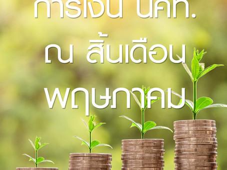 การเงิน นคท. เดือนพฤษภาคม 2020