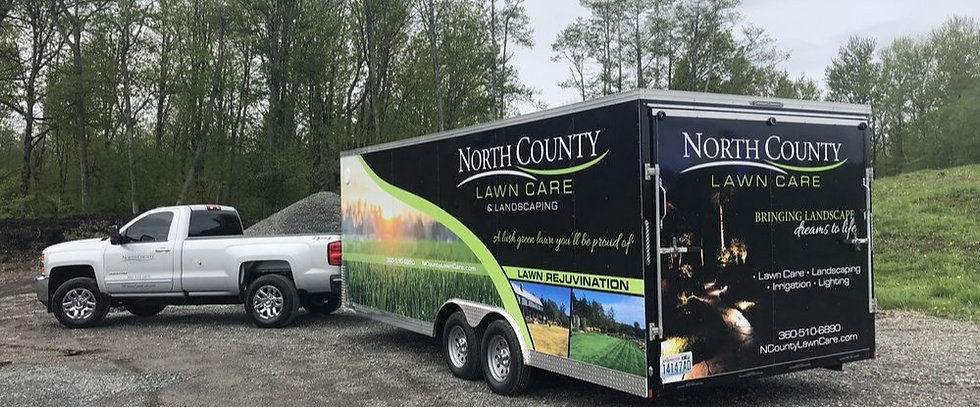 north-county-lawn-care-truck-and-trailer