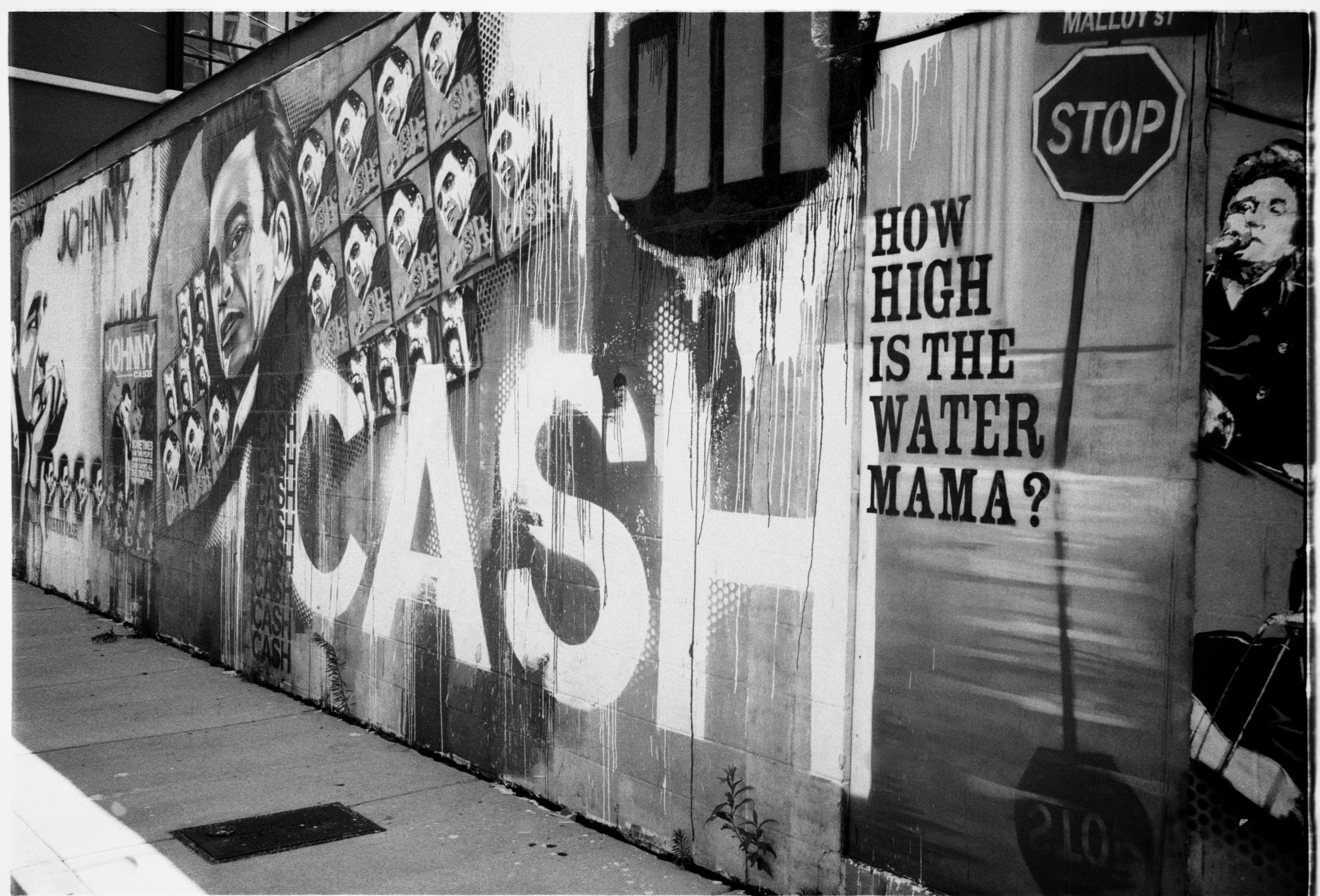 cash graffiti