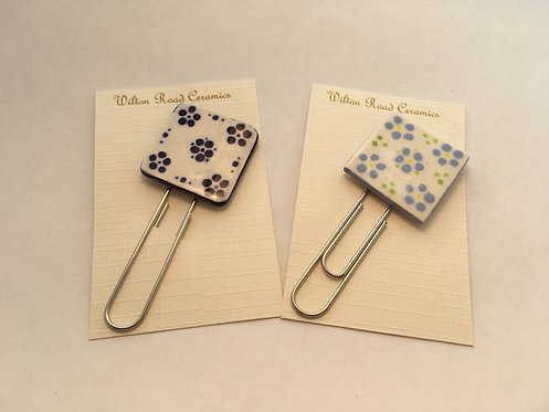 Small Flower Bookmark