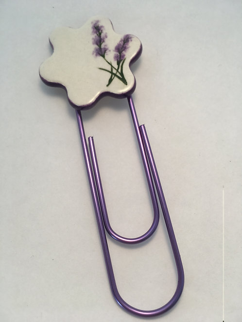 Lavender Bookmark