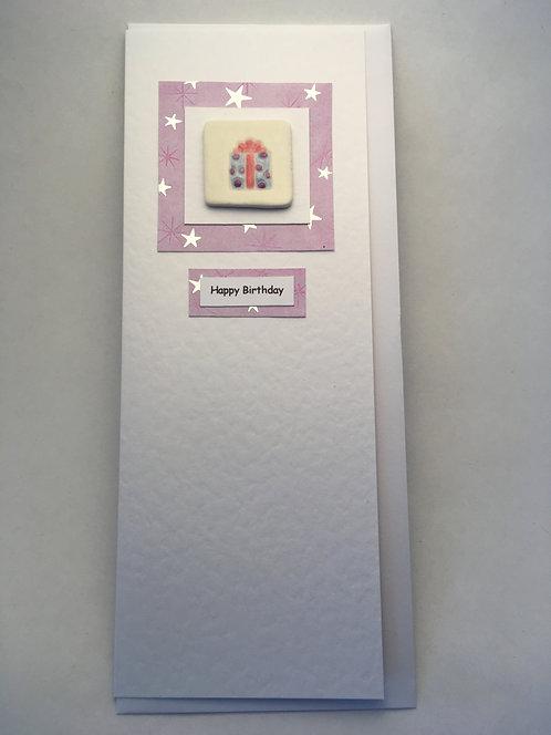 Present Happy Birthday Card