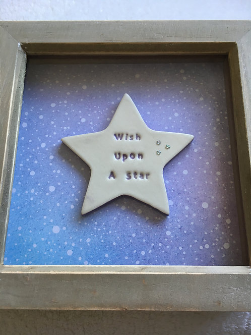 Wish Upon A Star Small Frame