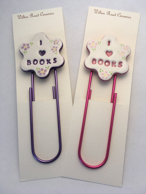 I ❤ Books Bookmark