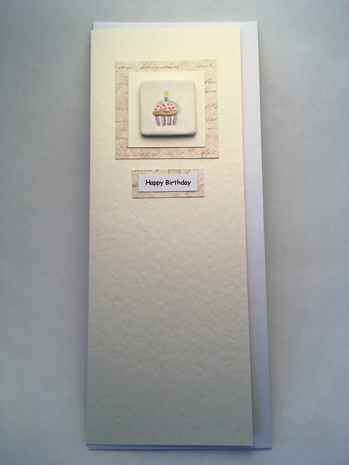 Cake Happy Birthday Card