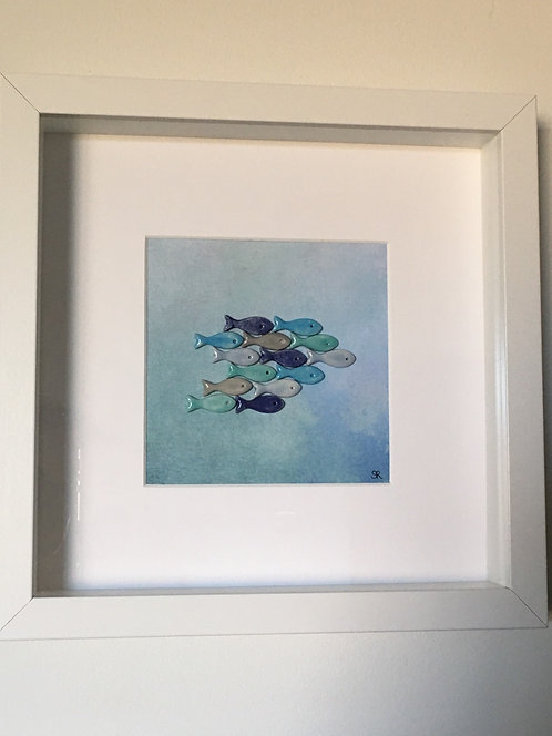 Shoal of Fish Large Frame