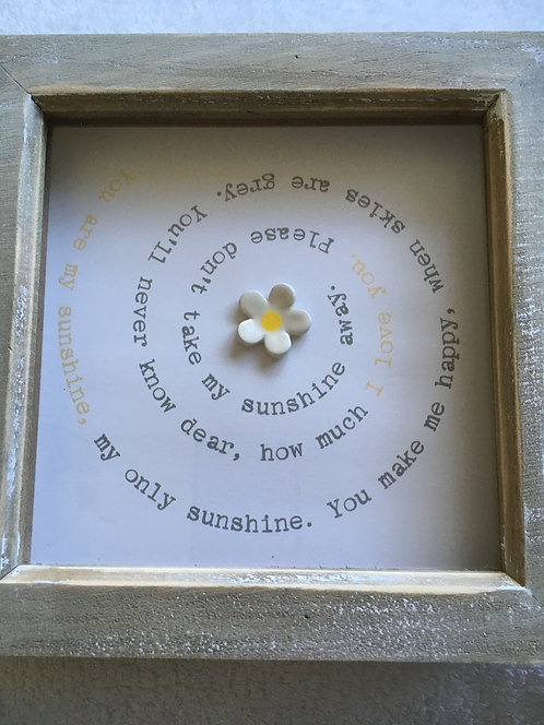 Sunshine Spiral Small Frame