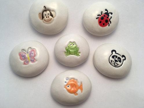 Set 3 - Animal Story Stones