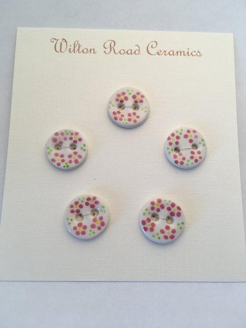Small Flower Buttons