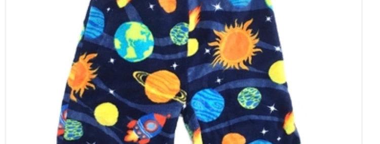 Solar System Cozy Pj Shorts