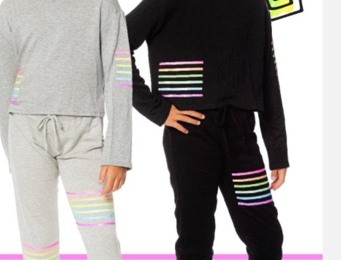 Glitter Lines Sweatsuit