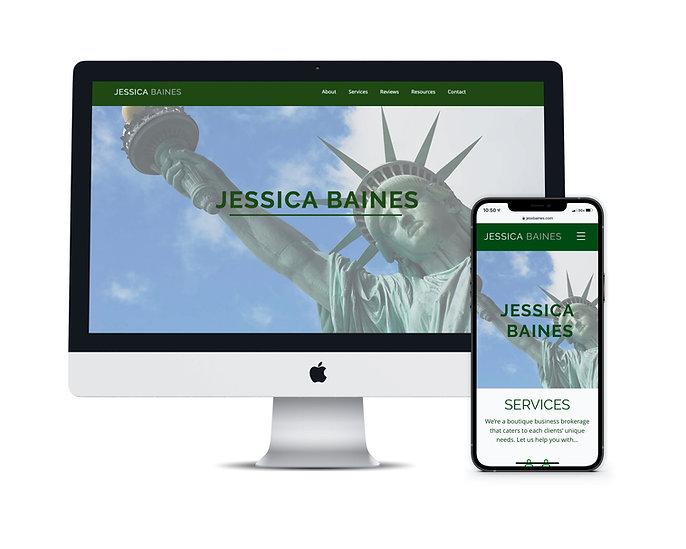 Jessica Baines, Business Broker