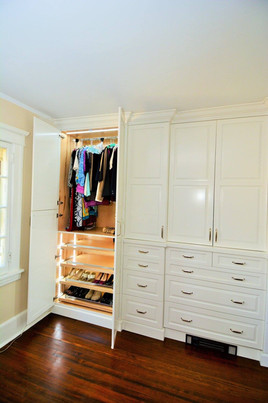 Closet Renovation and Remodel
