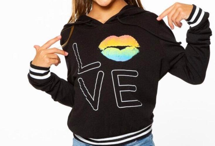 Love/Lips Hoodie
