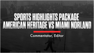 Sports Highlights Package American Heritage vs Miami Norland