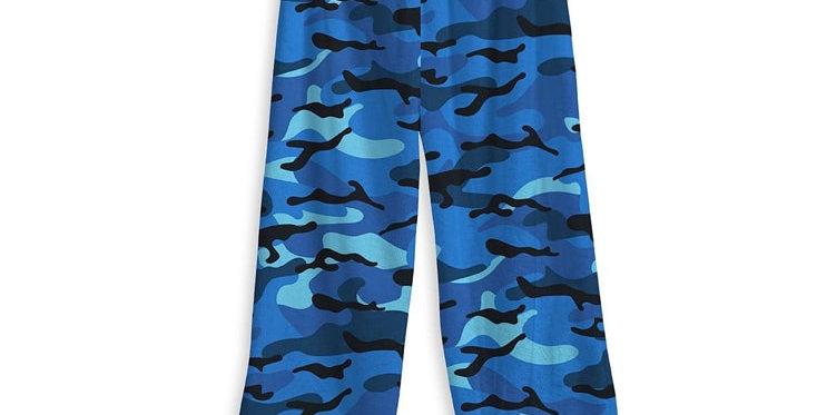 Blue Camo Cozy Pants