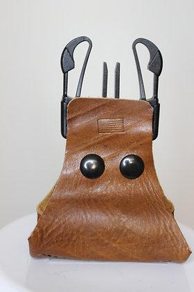 100% Single Leather Handle