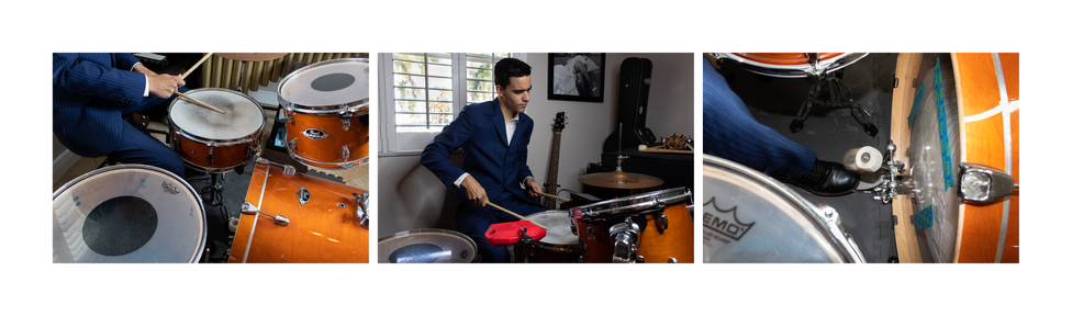 Davel, a percussionist