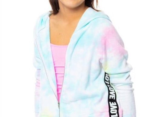 Tie Dye Love Band Jacket
