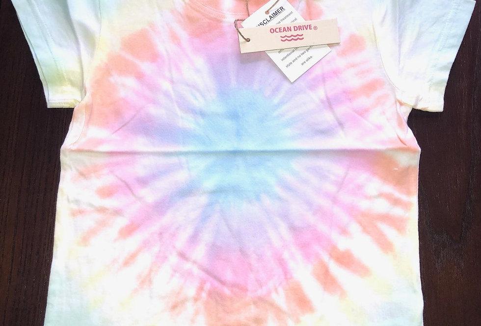 Ocean Drive/Vintage Havana Pastel Swirl Tie Dye Short Sleeve