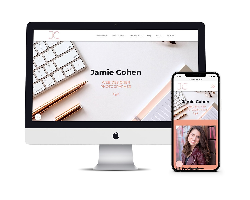 Jamie Cohen Website Design and Photography