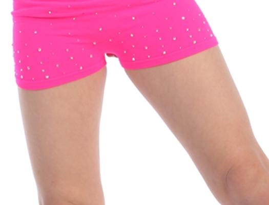 Boy Shorts with Rhinestones