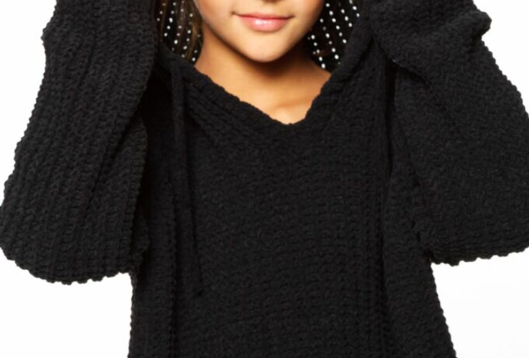 Chennile Hoodie Sweater