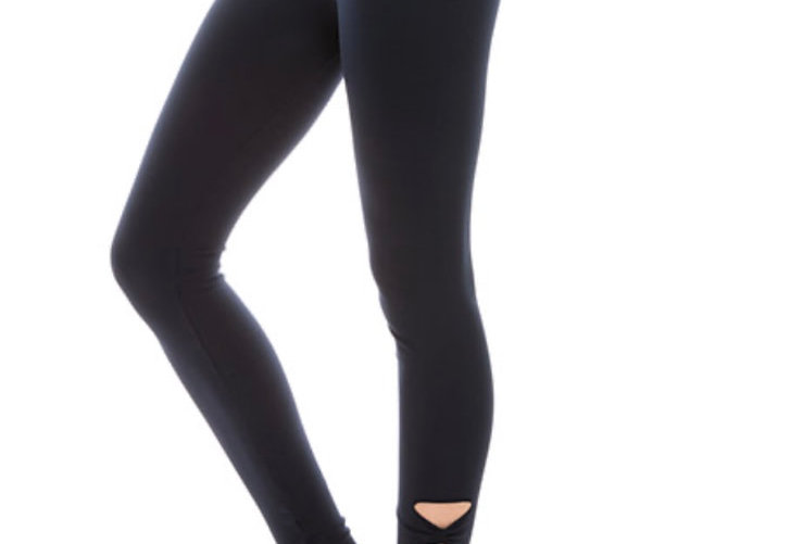Cut out leggings with compresssion