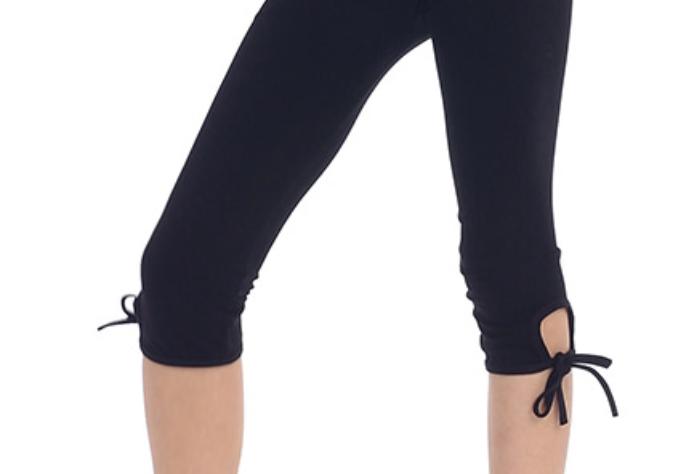 Black Leggings with Ties
