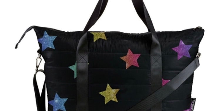 Puffer Tote with Multistars
