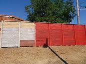 Paint Concrete Fence