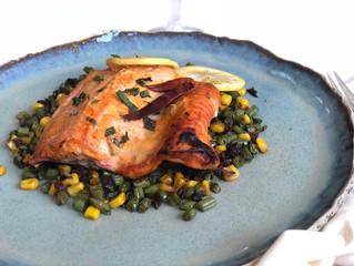 Easy Tandoori style Baked Salmon