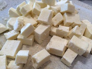 Homemade Paneer (Indian Cheese)