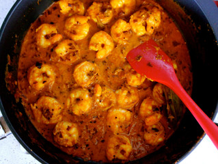 Shrimp (Chingri) Malai Curry