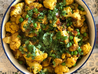 Gobhi Matar (Indian Cauliflower and Peas)