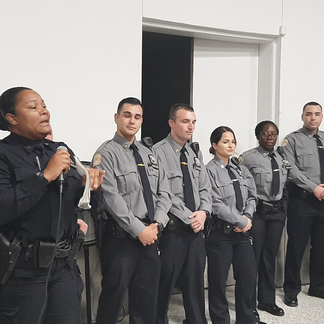 New NYPD Recruits