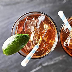 ICED VIETNAMESE TEA & LIME JUICE