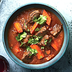 410 FIVE SPICE BEEF BRISKET AND CARROT STEW