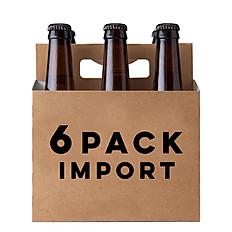 6 PACK IMPORT BEER