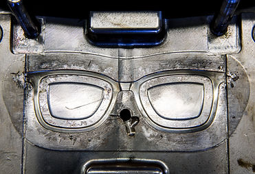 eyewear injection molded