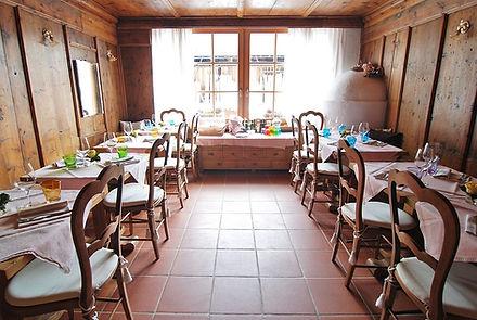 Sala da pranzo stube Boton D'Oro