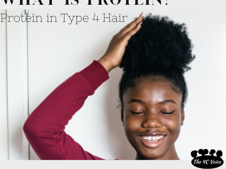 Protein in Type 4 Hair